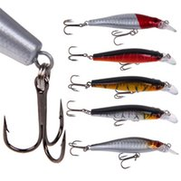 Compra Prezzi All'ingrosso Della Colomba-CAMTOA prezzo all'ingrosso 5pcs 8 centimetri Bass Fishing Lures Diving 0.5-1.5m Crankbait dei ciprinidi Treble Tackle Laser Ganci esche
