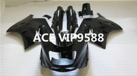 Wholesale 93 Zx 11 Fairings - 3 gifts Motorcycle Fairing kit for KAWASAKI Ninja ZZR1100 1993 2001 2003 ZX-11 ZZR1100D 93 01 02 03 Motorcycle Fairings set Black