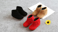 Wholesale Thick Fur Boots - Boots 10_2 Fringe Girls Boots Fur Thick Warm Children's Shoes 2017 New Shoes For Boys Top Quality Baby Cotton Zip Kids Snow Boots Winter