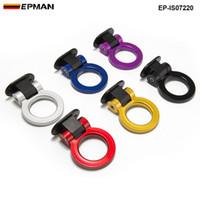 пластиковый крючок для автомобиля оптовых-EPMAN-новый универсальный пластиковый декоративные для любого автомобиля внедорожник буксировочный крюк манекен буксировочный крюк стайлинга автомобилей EP-IS07220