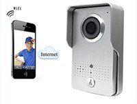 Wireless Wifi Door Bell Camera Intercom Doorbell com controle de smartphone