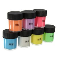 12st 10ml Graffiti Partei DIY Floureszierende Acryl Leuchtfarbe Hell Pigment-Party Make-up-Dekor 12 Farben WJ1324