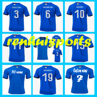 Wholesale Italy Dhl - Rugby 2017 2018 Italy Jerseys BALOTELLI PIRLO VERRATTI DE ROSSI CANDREVA INSIGNE 17 18 Rugby Jersey 10 or more free to send DHL