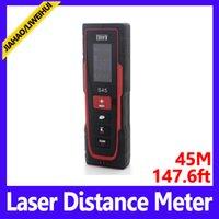 Wholesale Cheap Laser Distance Meter - Mini 45m Laser distance meter sensor protection type IP45 laser meter cheap rangefinder MOQ=1 free shipping