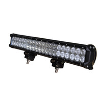 """Wholesale 42 Light Bar - 20"""" 126W 42*3W Cree Led Work Light Bar Spot Flood Combo Beam Off Road for SUV Boat Truck Car Vehicle Driving Boat"""