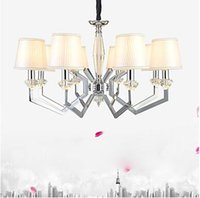 Wholesale Designer Contemporary Pendant Lights - 5W Pendant Light , Modern Contemporary Electroplated Feature for Crystal   Designers Metal Bedroom   Dining Room   Study Room