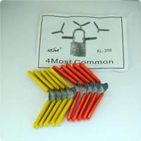 Wholesale Cheap Folders - high quality cheap 10pcs Aircraft clip padlock folder picks KLOM locksmith tool unlocking the padlock picks