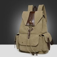Men's Casual Shoulder Bags Canvas Mochila Travel Schoolbag Mochila Masculina Mochila Escolar