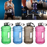 Wholesale Sports Jug Wholesale - 2.2L Large Capacity BPA Free Sport Gym Training Drink Water Bottle Cap Jug Workout joyshaker bottle outdoor Enviromental bottle B978