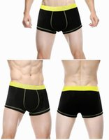 Wholesale Boxer Charms - The New Men's Underpants In Solid Color Sexy Knickers Make For Cotton Highlight The Charm Of Men Direct Deal Hot Sale In 2016