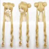 Wholesale Sailor Wig - 100% Brand New High Quality Fashion Picture wigs>>Girl Sailor Moon Cosplay Costumes Wig Tsukino Usagi And Princess Serenity wig