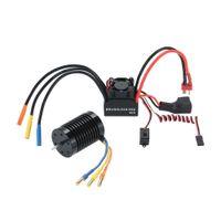 Wholesale 6v Esc - Wholesale- 3650 3930KV 4P Sensorless Brushless Motor & 45A Brushless ESC Electronic Speed Controller with 6V 2A Switch Mode BEC for 1 10 RC