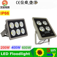 Wholesale Led Reflector White - New Led Floodlight Led Flood Light 200w 400W 600W Sportlight Exterior Reflector Floodlight Spot Exterieur Lamp Outdoor Lighting