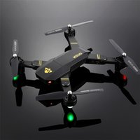 Wholesale RC Dron Visuo XS809W XS809HW Mini Foldable Selfie Drone with Wifi FPV MP or MP Camera Altitude Hold Quadcopter Vs JJRC H37
