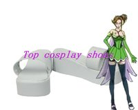 Wholesale Fairy Costume Shoes - Wholesale-Fairy Tail Alba Evergreen Cosplay Boots shoes #MM171 Halloween shoes