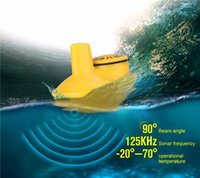 Wholesale Sonar Fish Detector - 18pcs lot Wholesale Wireless Remote Fishing Sonar Sensor for Fish Finder FFW-718 sound fish detector Alarm Fly fishing tackle