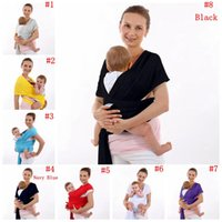 Wholesale Toddler Front Carrier - Baby Carriers Wrap Newborn Carrier Backpack Slings Toddler Suspenders Seat Kids Waist Stool Straps Infant Waist Bench Belt 8 Colors OOA3436