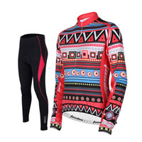 Wholesale biker clothes online - Tasdan Personalised Specialized Cycling Jerseys Women Sport Wear Suits Sets Winter Cycling Clothing for Racing Bikers
