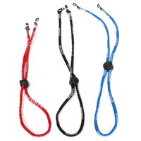 Wholesale Outdoor Cords - Wholesale-NEW Outdoor Adjustable Sports Sunglasses Glasses Neck Cord Strap Retainer String Lanyard New