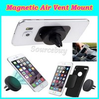 Wholesale s3 phone holder for car for sale – best Magnetic Dashboard Car Air Vent Cell Phone Mount Holder for Iphone s plus Samsung S3 S4 S5 S6 Car Mount Reinforced Magnet