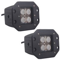 Wholesale Driving Lights Vehicle Car Truck - 10-50V 12W Car LED Driving light LED work Light LED offroad light for Truck Trailer SUV technical vehicle ATV Boat