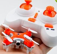 Wholesale Toy Rotor - Cheerson CX-10C 2.4G 4CH RC Quadcopter With 0.3MP Camera Nano Helicopter Drone Remote Control Toy Free Shipping hot sale