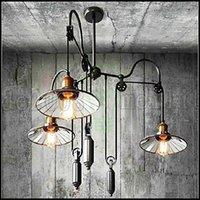 Wholesale Vintage Mini Chandelier - Vintage   Country Mini Style Painting Metal Chandeliers Pendant Lamp Living Room   Bedroom   Dining Room   Study Room Office   Kids Room