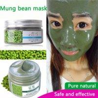 Wholesale Eye Mud - Mung bean mud mask oil control refreshing to the black water replenishment moisturizing cream compact shrink pores Peeling Mask