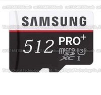 Wholesale Camera Sdhc Card - 64GB 128GB 256GB 512GB 1024GB Samsung PRO+ micro sd card smartphone SDHC SDXC Storage card TF card camera memory card 90MB S