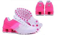 Wholesale Womens Casual Walking Shoes - New fashion famous shox womens casual 3 colors shox deliver women outdoor walking shoes us 5.5-8.5 free shipping
