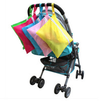 Wholesale supply baby clothes resale online - New High quality Baby Dirty Clothes storage bag Oxford waterproof diaper bag necessary Travel supplies IA690