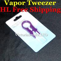 Wholesale V3 Ring - DHL Free Ceramic Vapor Tweezer V3 (E) Multifunction snap ring Tweezers Ceramic Tweezer III Vaper Twizer e Cigarette RDA DIY Handle Tweezer