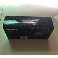 hochwertige mikrofone großhandel-Hochwertige version SM58LC vocal Karaoke microfone dynamische verdrahtete handmikrofon kostenloser versand