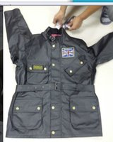 Wholesale Union Cotton - free shipping 2016 man barbaur UK union jacket top quality BAR union waxed cotton jacket