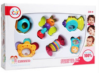 Wholesale Newborn Easter Gifts - safety,healthy,as a gift Department of music the newborn baby toys latex rattles, 0-1 year old gift boxed,good quality