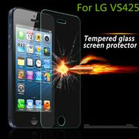 ingrosso pellicola dello schermo di lg l9-Per LG K4 VS425 Pellicola proteggi schermo in vetro temperato per LG Optimus ZONE 3 NO Confezione al dettaglio per LG K4 VS425