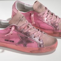 Lace-Up sport agency - 2016Golden pink tail chicago brewed Goose South Korea women s shoes small dirty shoes GGDB act as purchasing agency stars leisure sport