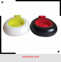 Wholesale Inflatable Plastic Furniture - Factory Supply New Inflatable Chair Loafers Sofa Dorm Chair Sofa Chair Outdoor Garden Corner Sofa Livingroom Furniture sofa portable DHL