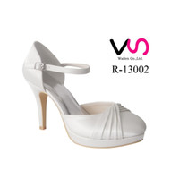 Wholesale Size 35 Bridal Platform - White Ivory Wedding Dress Shoes 10cm high heel platform Women Bridal Shoes Bridemaid Flower girl Shoes Free Shipping From Euro Size 35-42