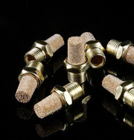 Wholesale Copper Water Pipes - Hot sell Glass water pipes fittings Copper metal silencer filter