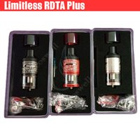 Wholesale Double Deck Atomizer - Top Limitless RDTA Plus Tank iJOY Rebuildable Dripping Atomizer Vaporizer 1:1 Clone 6.3ml Double Deck Deck e cigs Vapor mods Vape RDA DHL