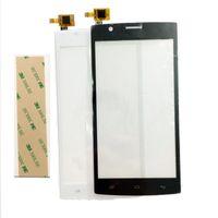 fliegen touchscreen großhandel-Großhandels-Neuer Touch Screen für Fliege FS501 Nimbus 3 FS 501 Sensor-Touch Screen Analog-Digital wandler-Front-Glas + 3m Aufkleber mit Spurhaltungszahl