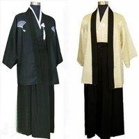 Wholesale Cheap Japanese Clothes - Cheap Japanese kimono dress robes clothing for men popular kimonos costumes suits
