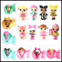 Wholesale Baby Christmas Items - 2017 Burst of 7 Layers LOL Pop Figures lol Surprise Dolls 8 Styles Princess Barbies Toys Christmas Gifts Items