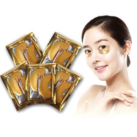 Wholesale 2016 hot selling Gold Collagen Crystal Eye Mask Eyelid Patch Moisture Anti Aging Eliminates Dark Crystal Eyelid Patch Anti Wrinkle