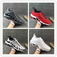 Wholesale Huge Cut - 2017 New Maxes TN Plus Shoe Mens Cheap High Quality Running Shoes Men Sports Shoes Huge Discount On Sale Running Shoes Eur 40-46