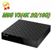 2017 más barato M9S X9 2 GB RAM 16 GB android-tv-box Android 6.0 RK3229 WiFi Bluetooth Media Player Soporte HDMI LAN USB Mejor M8S PRO MXQ PRO