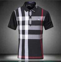 Wholesale Branded Polo Tee - New Fashion Men's Polo T-Shirt Male Casual short sleeves Tee Brand Man base shirt Tops