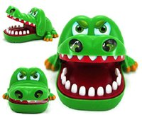 Wholesale Funny Dentist Gifts - Oun Nana Crocodile Dentist - Crocodile Biting Finger Game Funny Toy Gift Funny Toys For Kids - 1 to 4 Players - Ages 4 and Up