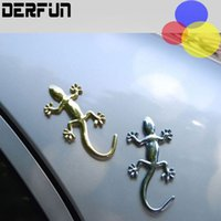 Wholesale Cheap Metal Badges - Cheap car body plating metal animal shaped stickers,Car Truck Motor Auto Decal Badge Sticker 2 coulers